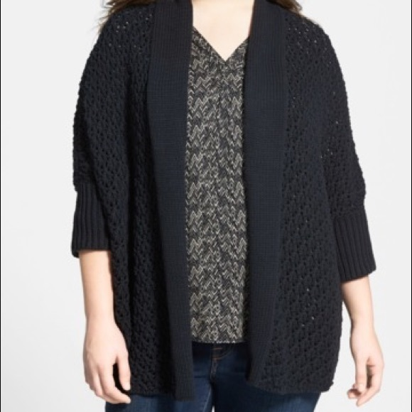 577b174ce2f Lucky Brand Sweaters - Lucky Brand textured open front knit cardigan